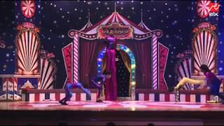 مسرح مصر يقدم فقرة من استعراضات السيرك
