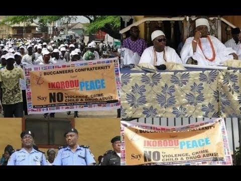 Axe, Eiye, Buccaneer cult groups unite for peace in Lagos