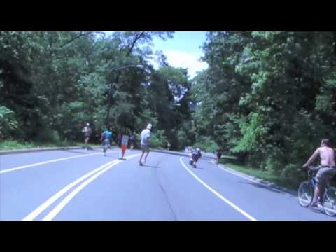 2011 Central Park Longboard Race Downhill