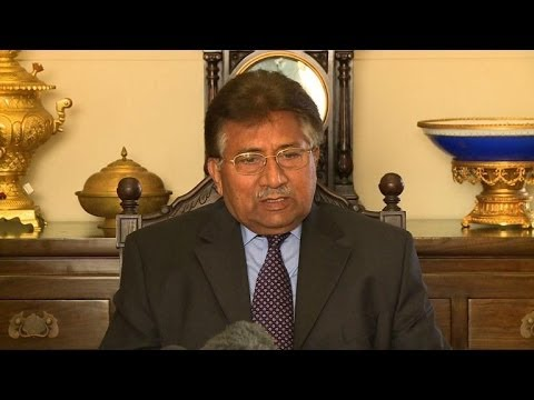 Pakistan's Musharraf says army backs him over treason charges