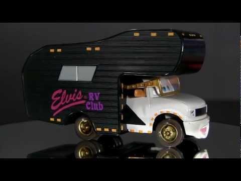 Cars ELVIS RV #9 Mobile Home Die-Cast Toy Review from Disney Pixar Mattel
