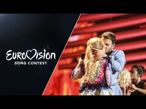Monika LinkytÄ— and Vaidas Baumila - This Time (Lithuania) - LIVE at Eurovision 2015 Grand Final