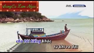 KARAOKE   DUONG VE QUE HUONG    Chau Huynh chay maraton bam sat bh LAM NGOC