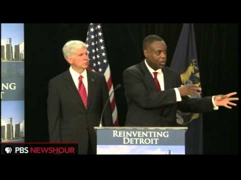 Michigan Gov. Rick Snyder, Detroit EFM Kevyn Orr on Detroit Bankruptcy