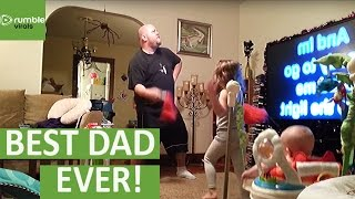 Mom finds out how Dad watches the kids
