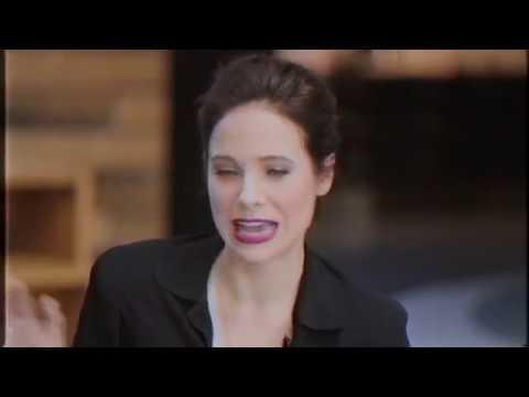 Caroline Dhavernas stockings flashing interview