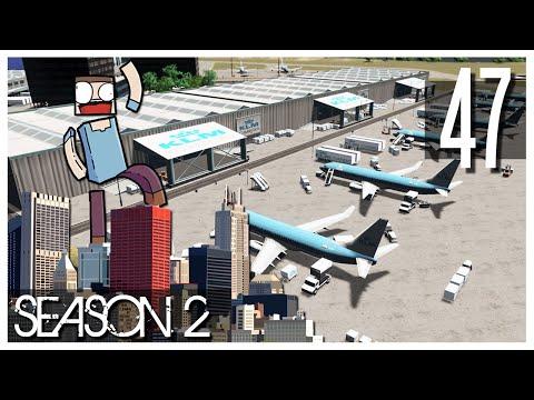 Cities Skylines - S2 Ep.47 : KLM Cargo!