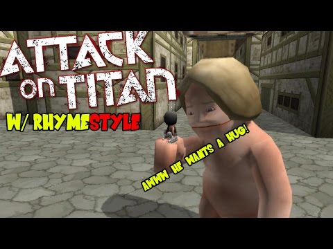 Attack On Titan Tribute Game: Mikasa the Protector of Trost Eren Titans Roar