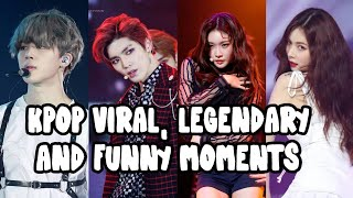 KPOP Viral, Legendary, and Funny Moments | Min Ong Park