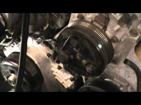 Ford Ranger Water Pump Replacement on a 4 Liter V-6 engine