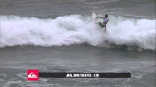 John John Florence R1 H12 - Quiksilver Pro Gold Coast
