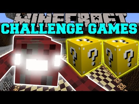 Minecraft: RADIOACTIVE SPIDER CHALLENGE GAMES - Lucky Block Mod - Modded Mini-Game