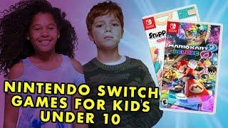 Best Nintendo Switch Games For Kids Under 10!
