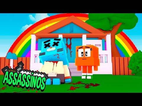 Minecraft: GUMBALL MORREU! (Assassinos) thumbnail