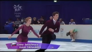 [HD] Pair FS - Group 5 Warming Up - 1998 Nagano Olympics