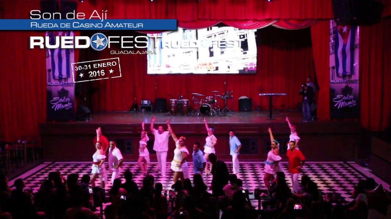 Son de Aji |  Rueda de Casino Amateur | Ruedafest 2016 | Guadalajara