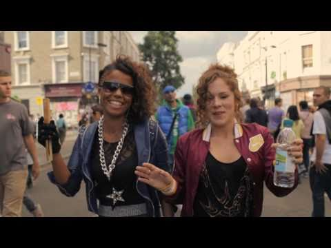 Katy B & Ms Dynamite — Notting Hill Carnival 2010