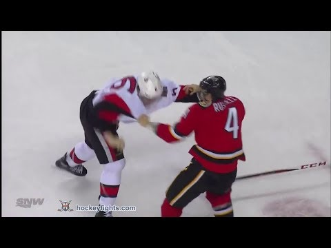 Bobby Ryan vs Kris Russell Mar 5, 2014
