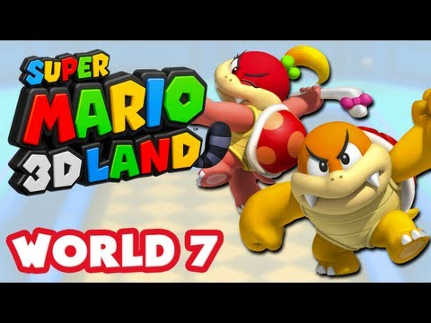 Super Mario 3D Land - World 7 (Nintendo 3DS Gameplay Walkthrough)