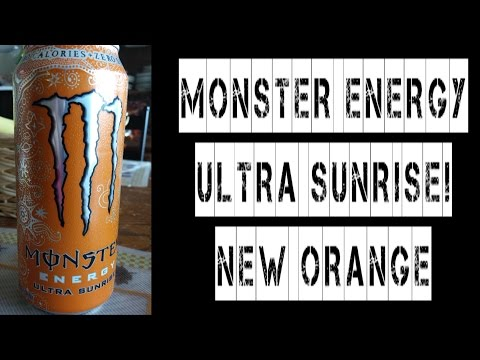 Monster Energy Ultra Sunrise Orange Review #FoodPorn | FreakEating on the Run 37