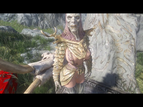 Skyrim Mod Review 10 - Mask Fetish and Getting High - Series: Boobs and Lubes