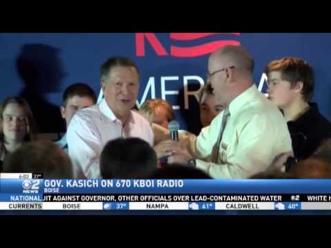 Kasich on 670 KBOI Talk Radio