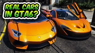 Real Cars In GTA 6