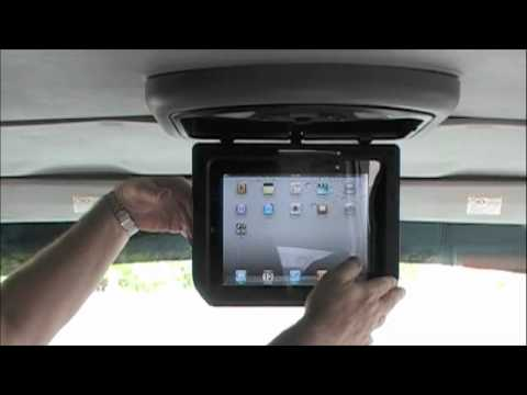 iPad Overhead Car Mount for iPad, iPad 2 and iPad 3 by Magnadyne