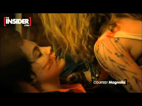 Lesbian Kiss Kylie Minogue Makes Out With Elvis Presley's Granddaughter Riley Keough video