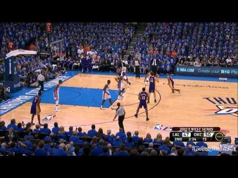[HD] Kobe Bryant 42 Points vs Oklahoma City Thunder [R2G5] - Highlights 22/05/2012