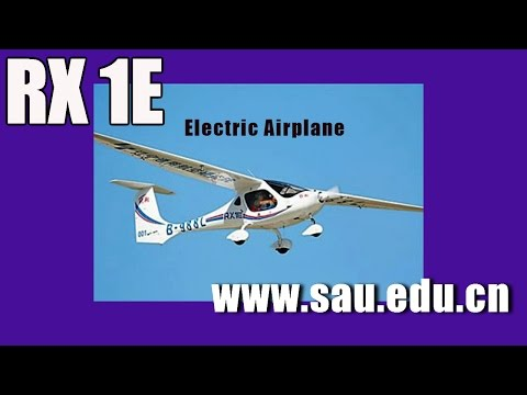 RX1E, Rui Xiang RX1E Certified Electric Two-Seat Airplane Aero Expo 2015