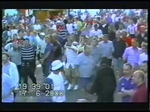 England Football Hooligans - Euro 2000 Riot