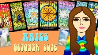 ARIES OCTOBER 2016 Tarot psychic reading forecast predictions free