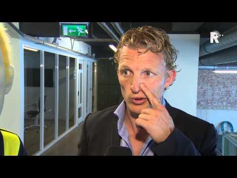 Dirk Kuyt opende de fanshop en liet zich uit over zijn toekomst bij Feyenoord