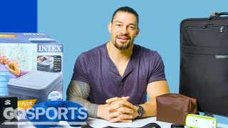 10 Things WWE Superstar Roman Reigns Can't Live Without | GQ Sports
