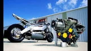 HELICOPTER Engine motorcycle!