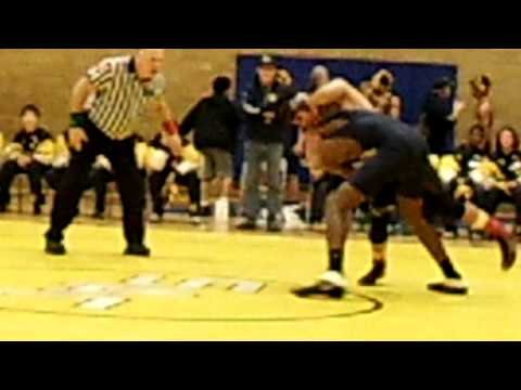 Sacajawea Middle School Wrestling Match (WIN)