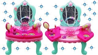 Snowplace Kids Toy Musical Dressing Table Unpacking and Toy Review