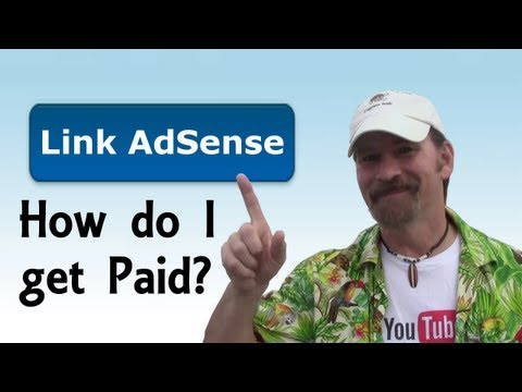 How To Link AdSense To Your YouTube Channel Tutorial 2013 - Pirate Lifestyle TV ™ Episode 043