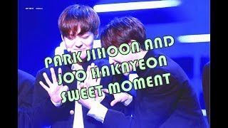 JIHOON AND HAKNYEON SWEET MOMENT ON PRODUCE 101 SEASON 2 (HAKWINK)