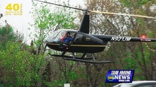 SUAB HMONG NEWS:  Flying Helicopter over 2015-16 NW Arkansas Hmong New Year
