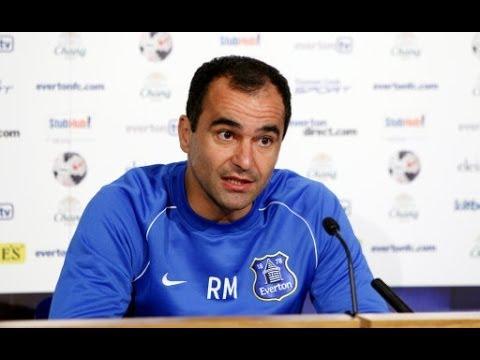 Roberto Martinez's pre-Crystal Palace press conference