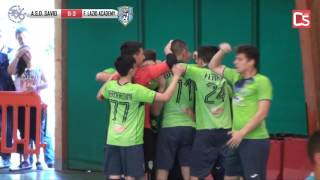 Calcio a 5, Finale Allievi:: Savio - Futsal Lazio Academy, highlights e interviste