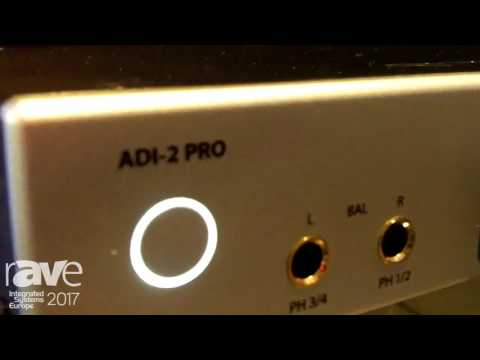 ISE 2017: RME Audio Displays ADI-2 Pro AD-DA Converter and Headphone Preamp