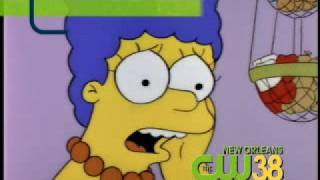 "WNOL ""Simpsons""/""Family Guy"" Combo on New Orleans CW (2008)"