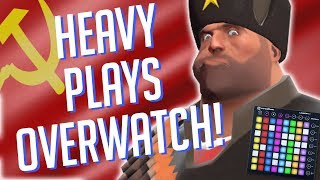 Heavy Plays OVERWATCH! Soundboard Pranks in Competitive!