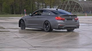 BMW M4 by Bimmer Tuning Stage 2 - Drag Race + Drifting!