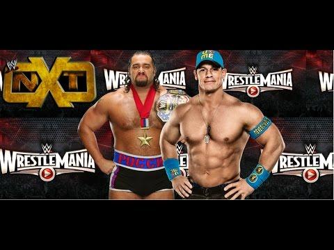 Major Backstage Wwe Wrestlemania 31 News On John Cena Rusev & Nxt Match At Wm 31! video