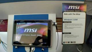 Erstes Hands On mit dem MSI WindPad 110W AMD Tablet