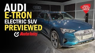 e-Tron Electric SUV from Audi Preview | Auto Today